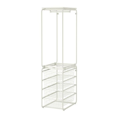 IKEA - ALGOT, Rahmen mit Stange/Drahtkörbe. 45€ | Neues Zuhause ...