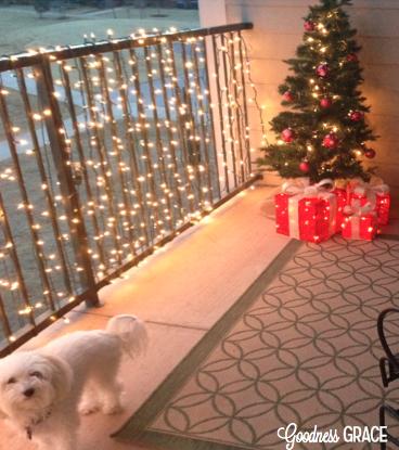 Outdoor Christmas Apartment Decor Christmas Lights For