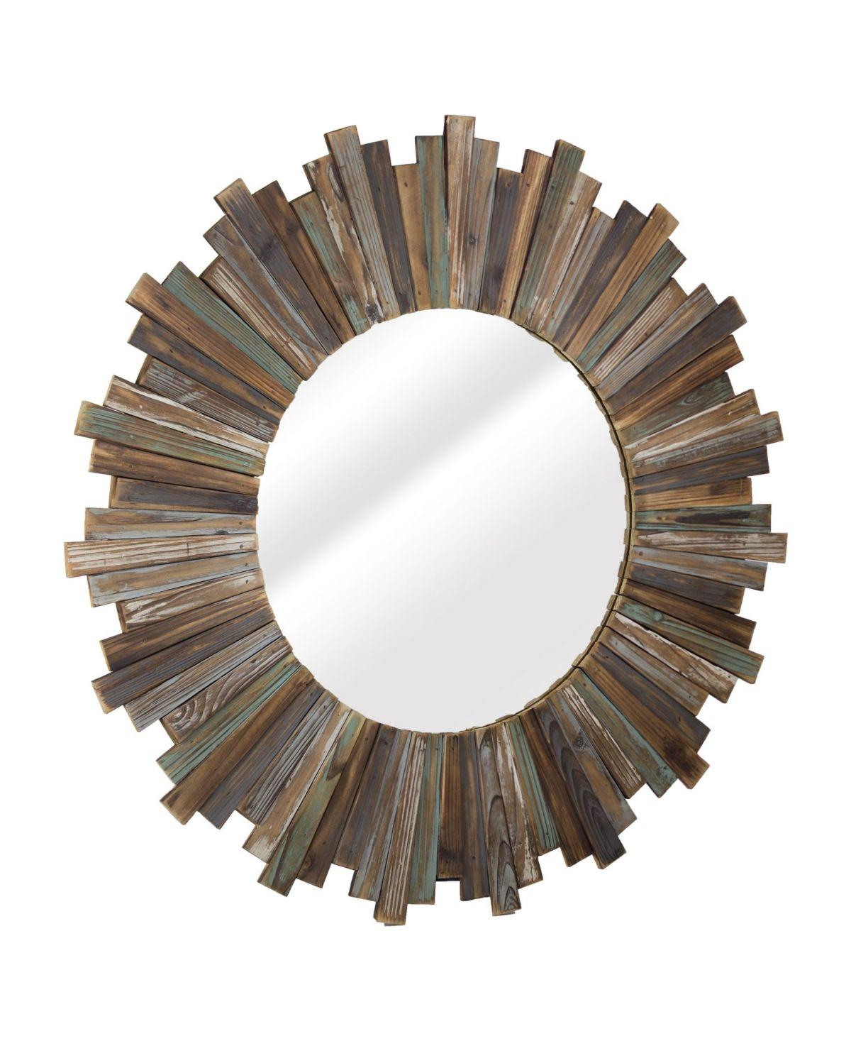 Crystal Art Gallery American Art Decor Rustic Distressed Wood Round Sunburst Mirror Reviews All Mirrors Home Decor Macy S Starburst Mirror Wall Sunburst Mirror How To Distress Wood