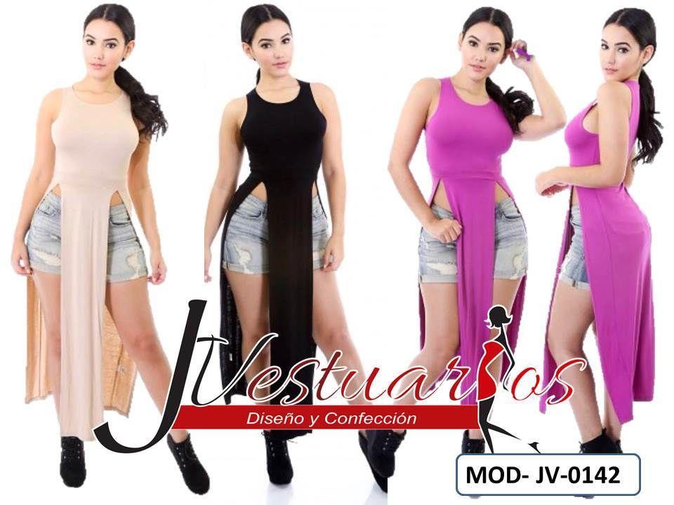 28811976d Vestidos Casuales Para Damas - Blusones Largos - Sobretodos - Bs. 12.900