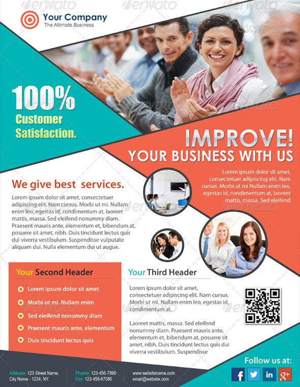 Effective Corporate Flyer Print Design designleo - corporate flyer template