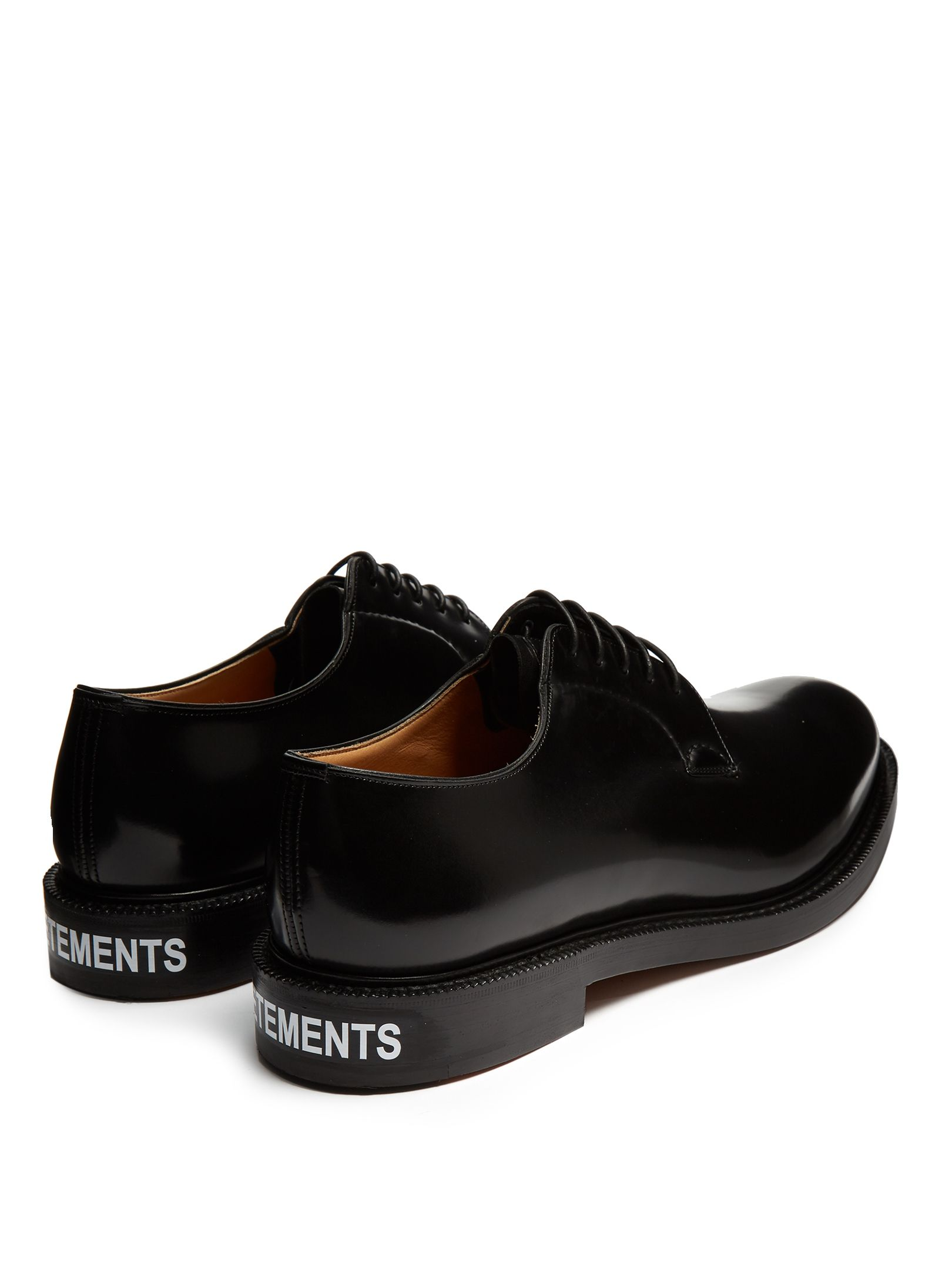 bd70522b162 Click here to buy Vetements X Church s leather derby shoes at  MATCHESFASHION.COM