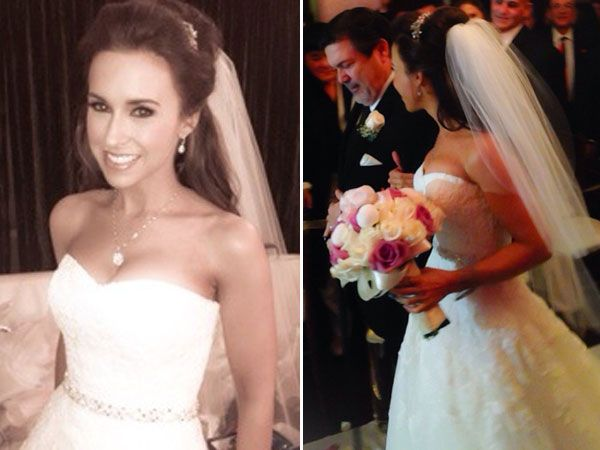 Lacey Chabert Shares Wedding Pics With Fans
