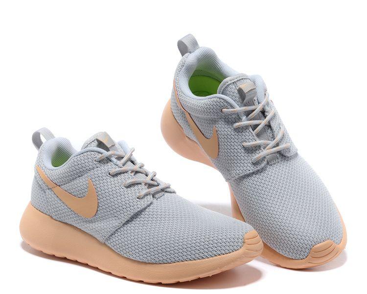 separation shoes d55bc 0e7a4 Nike Roshe Run Womens Mens Mesh Gray Light Orange,Roshe Run,Shoes,Sneakers ,Kicks