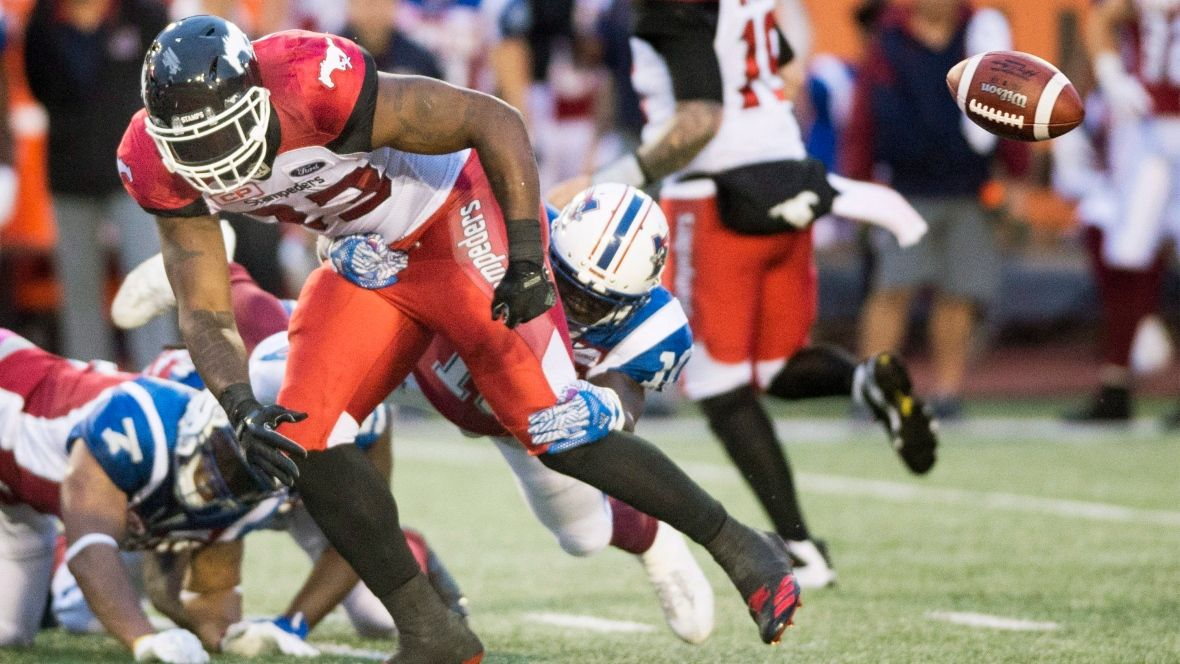 Hometown Alouettes handcuff Stampeders again CBC Sports