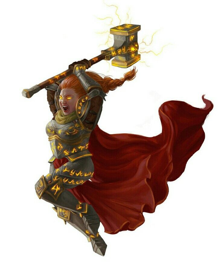 Female Dwarf Paladin - Pathfinder PFRPG DND D&D d20 fantasy   Female dwarf, Fantasy dwarf, Dnd ...