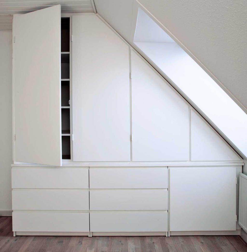 Atticbedroom Atticbedroom In 2020 Attic Bedroom Designs Loft Room Bedroom Decor Cozy