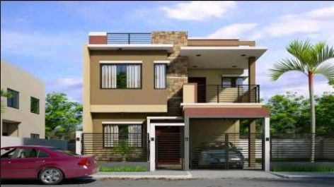 Icymi simple two storey house design in the philippines also paul  rh pinterest