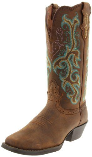 Amazon.com: Justin Boots Women's Stampede-L2552 Boot: Shoes