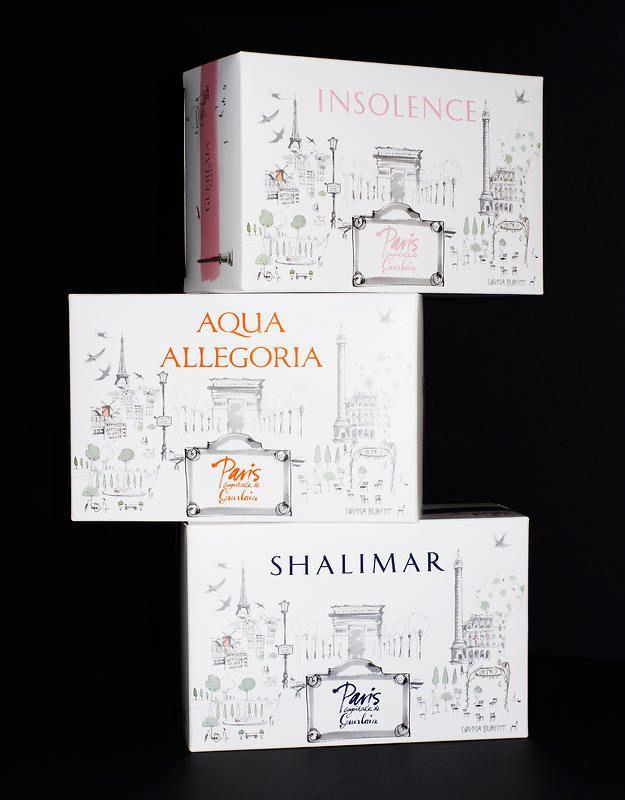 Sephora Gift Box: Lovisa Burfitt , Guerlain Gift Box Mothers Day 2013