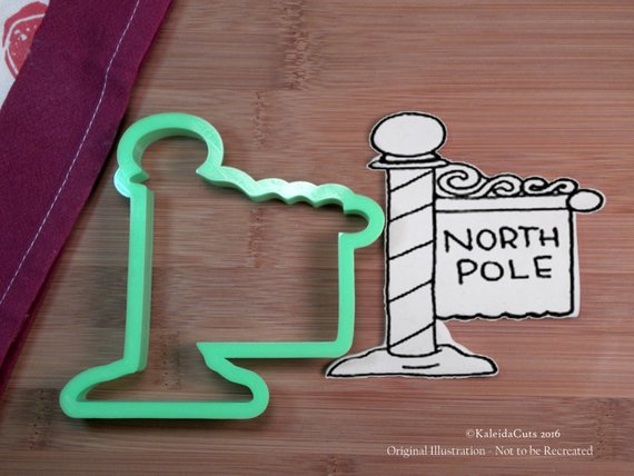 North Pole Cookie Cutter Products Cookie Cutters Cookies Santa