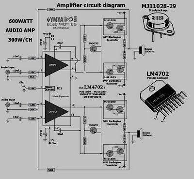 Amplificador tda1557 t Electronics