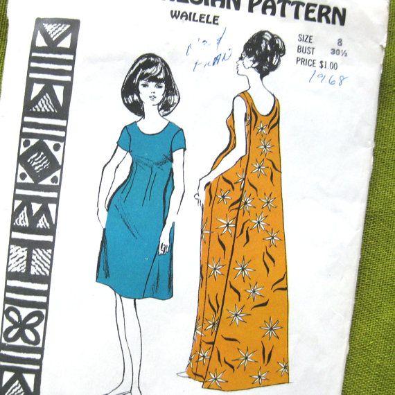 Vintage Sewing Pattern  Polynesian Pattern 150    by SelvedgeShop, $14.00