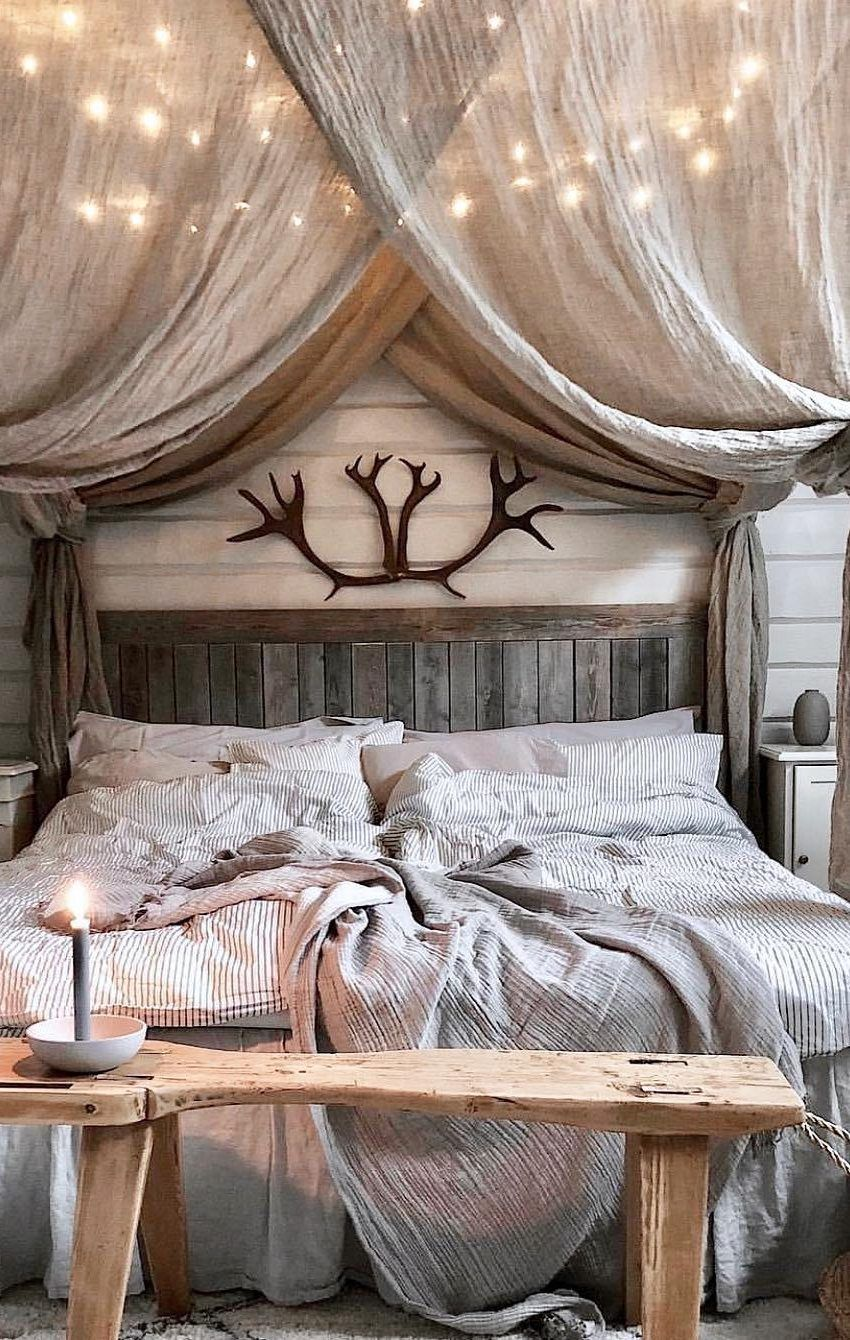 58 Popular And Modern Small Bedroom Design Ideas Page 47 Of 58 Lasdiest Com Daily Women Blog Modern Rustic Bedrooms Rustic Bedroom Romantic Bedroom