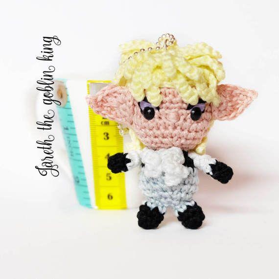 David Bowie Jareth amigurumi keychain doll crochet from Labyrinth ...