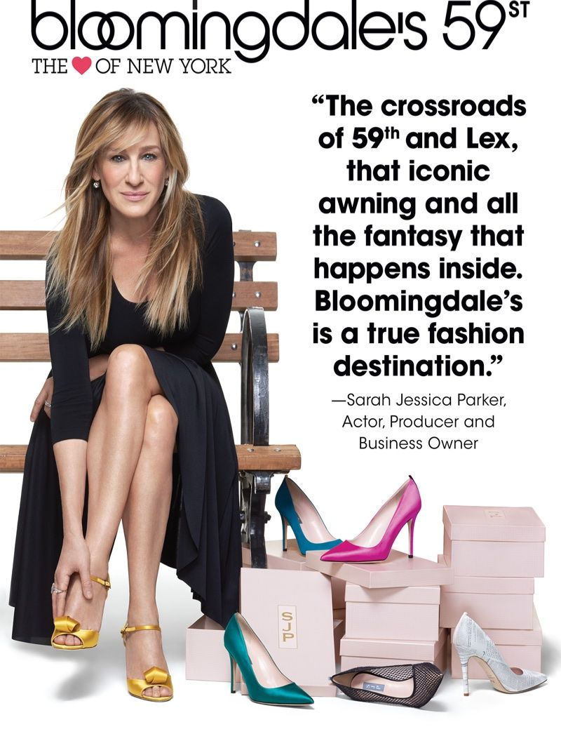423d94cf437 Sarah Jessica Parker appears in Bloomingdale s Heart of N.Y. campaign