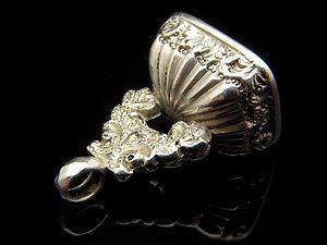 Rare Antique Silver 1903 Hallmark Carnelian Wax Fob Seal Charm Pendant FAST POST | eBay