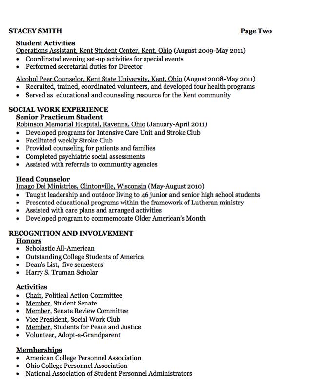 Social Work Resume Examples Residence Service Resume Example  Httpresumesdesign