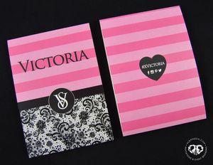 Quinceañera Invitation Victoria S Secret Black And Pink