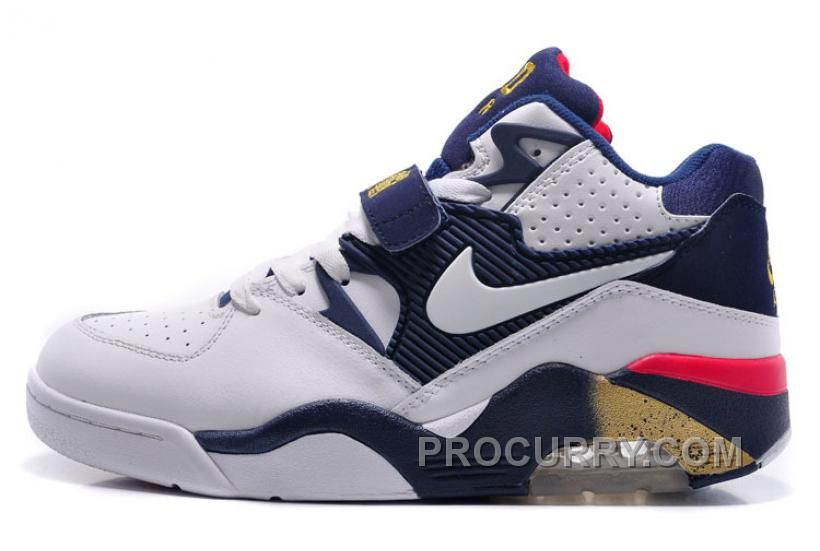Cheap Nike Air Force 180 Mid Charles Barkley White Midnight