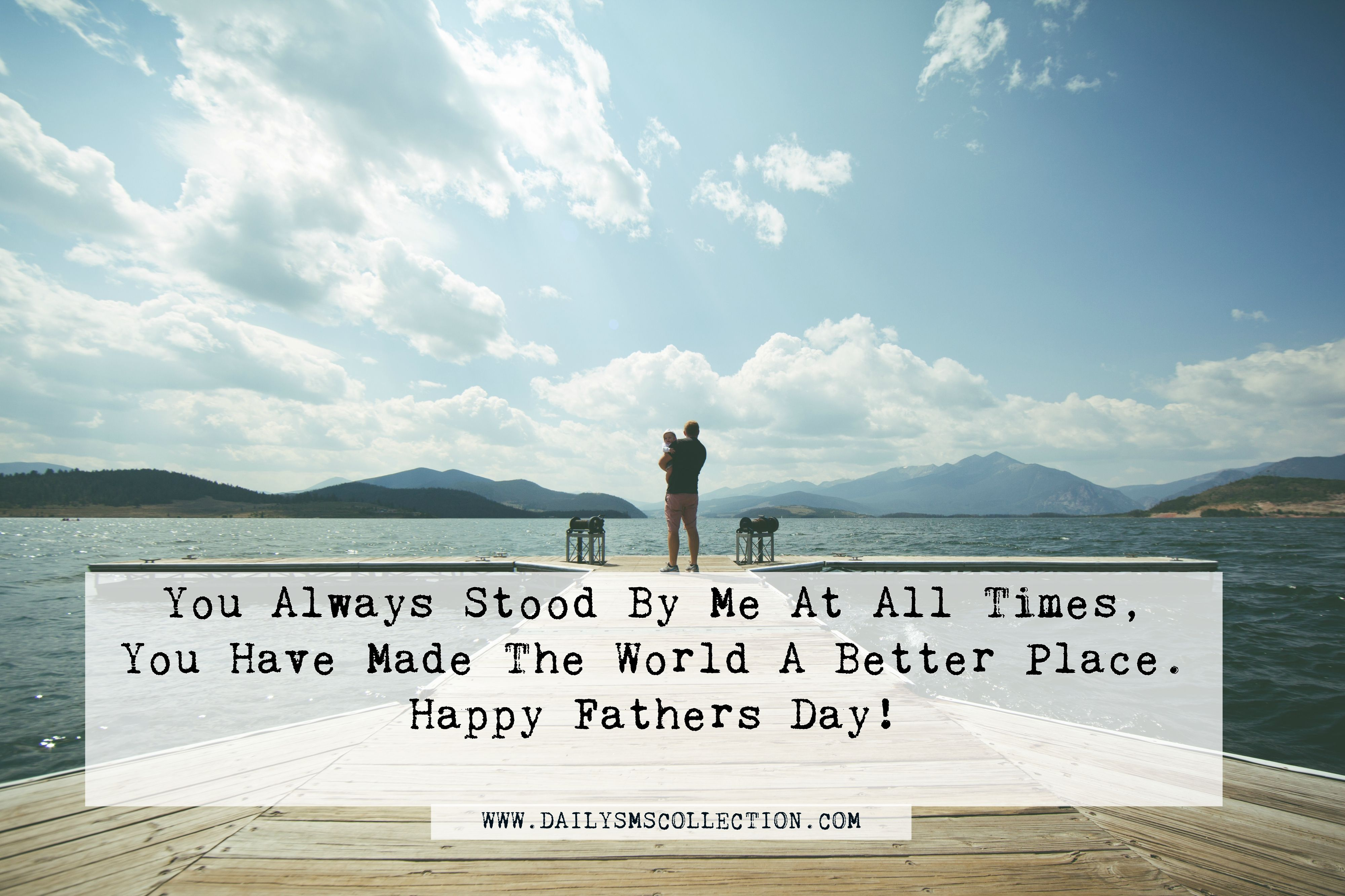 Happy Fathers Day with Quotes Free Download for Whatsapp