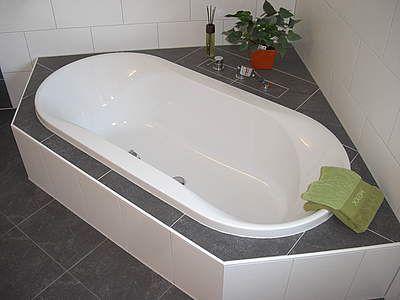 6 Eck Badewanne Fliesen