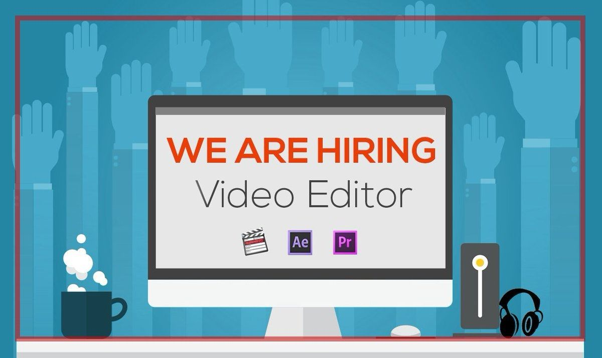 Video Editor Job Ring Road Surat Video Editor Graphic Designer Job New Things To Learn