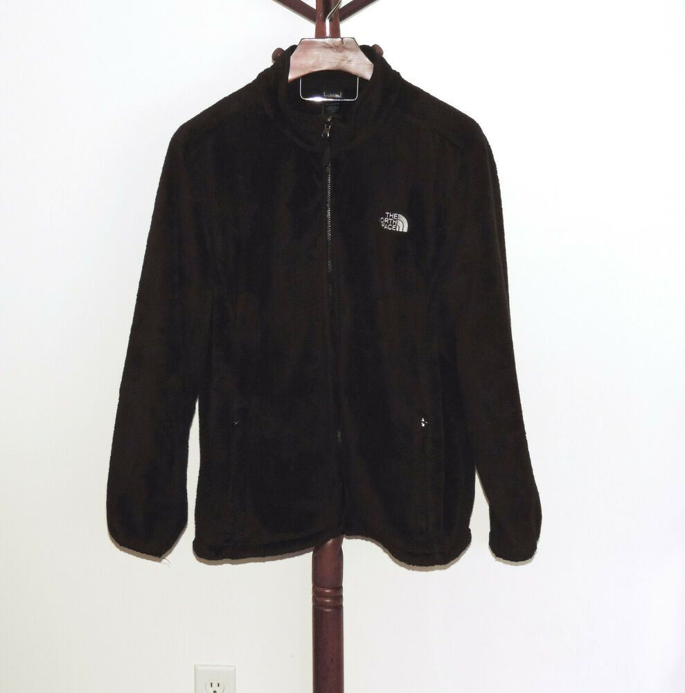 The North Face Black Fleece Jacket Women S Sizs Xxxl 3x Zip Front Ebay Fleece Jacket Womens Black Fleece Jacket Black North Face [ 1000 x 989 Pixel ]