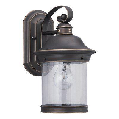 Sea Gull Lighting 8808 SingleLight Hermitage Outdoor Sconce