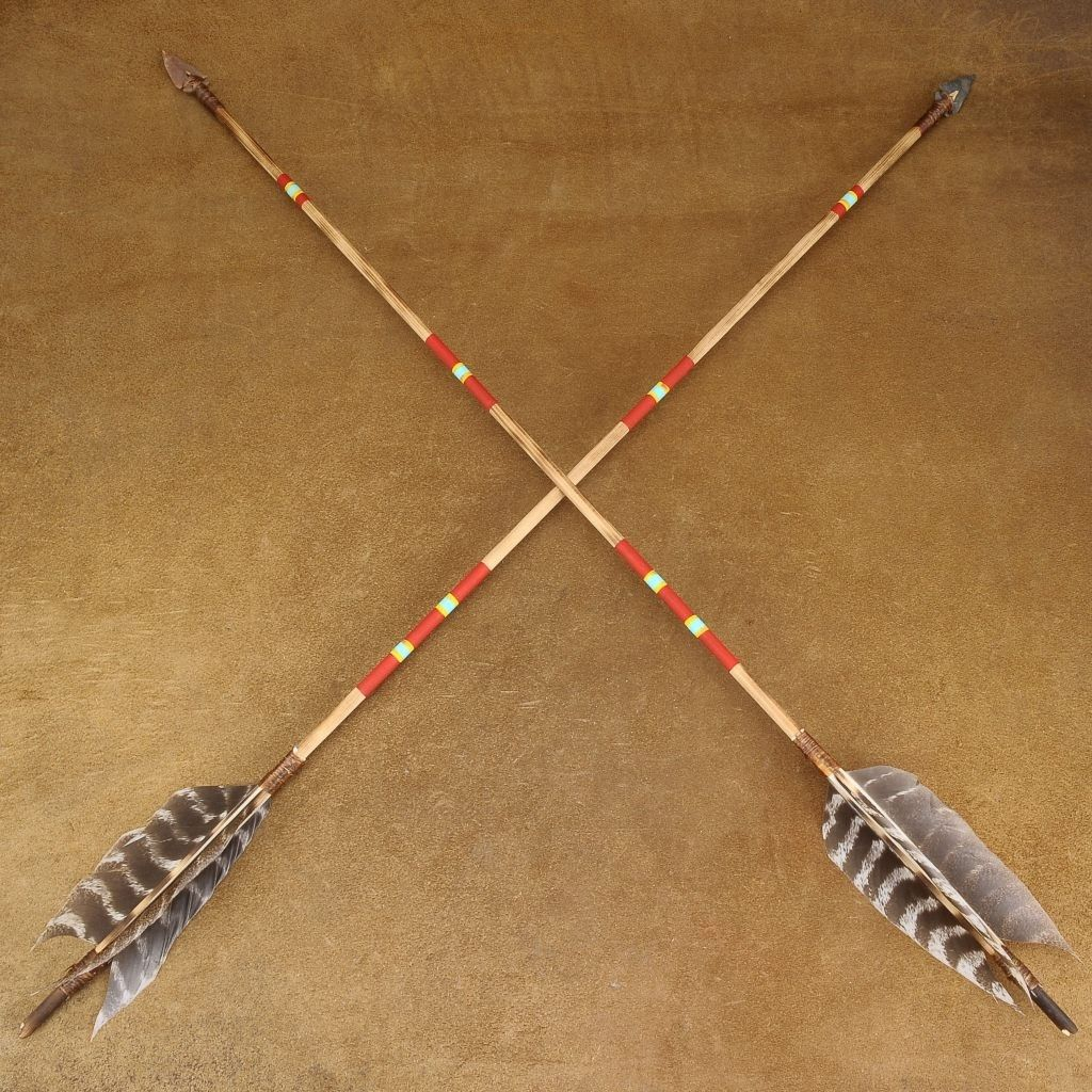 Native American Weapons Bow And Arrow