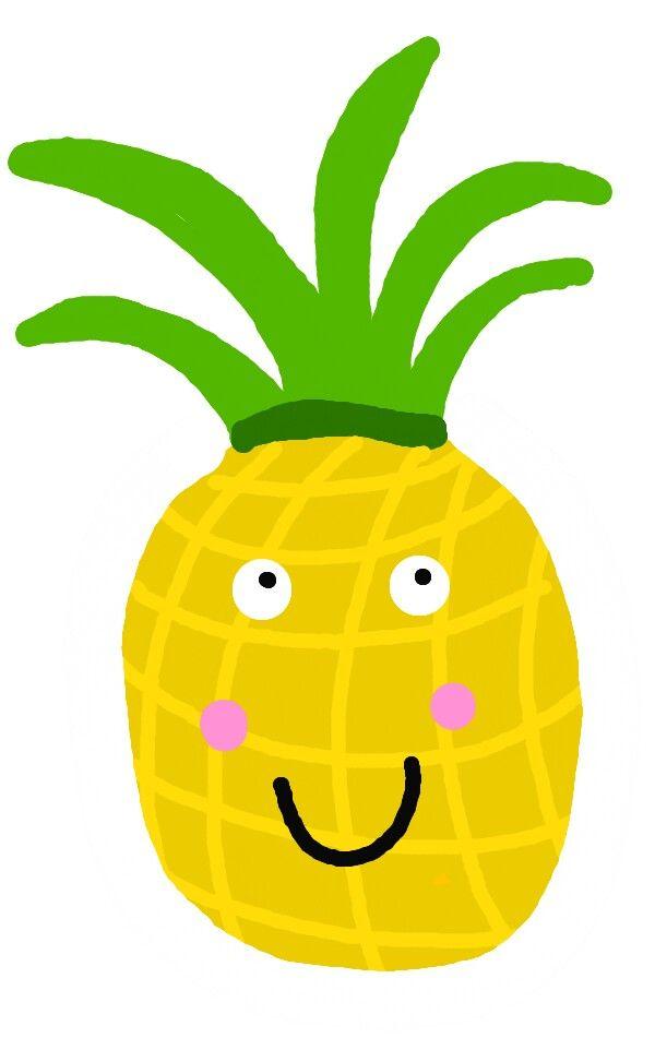 Ananas via tekenapp