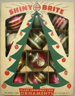 Vintage Christmas Decorations 1950s.Vintage Christmas Ornaments Home Inside Out Vintage