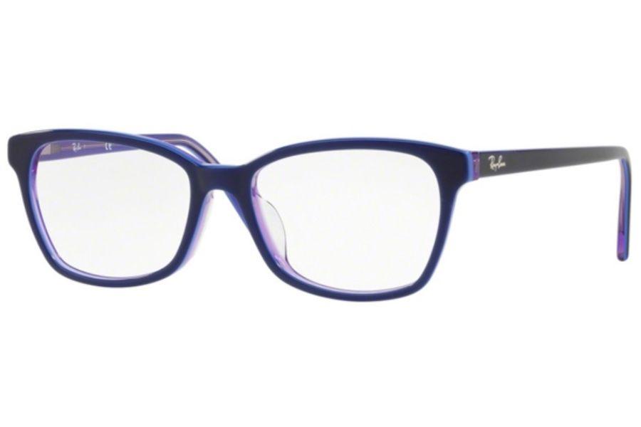 36df07fca5 Ray-Ban RX 5362F Eyeglasses in 5776 Top Blue Lt Blue Transp Violet