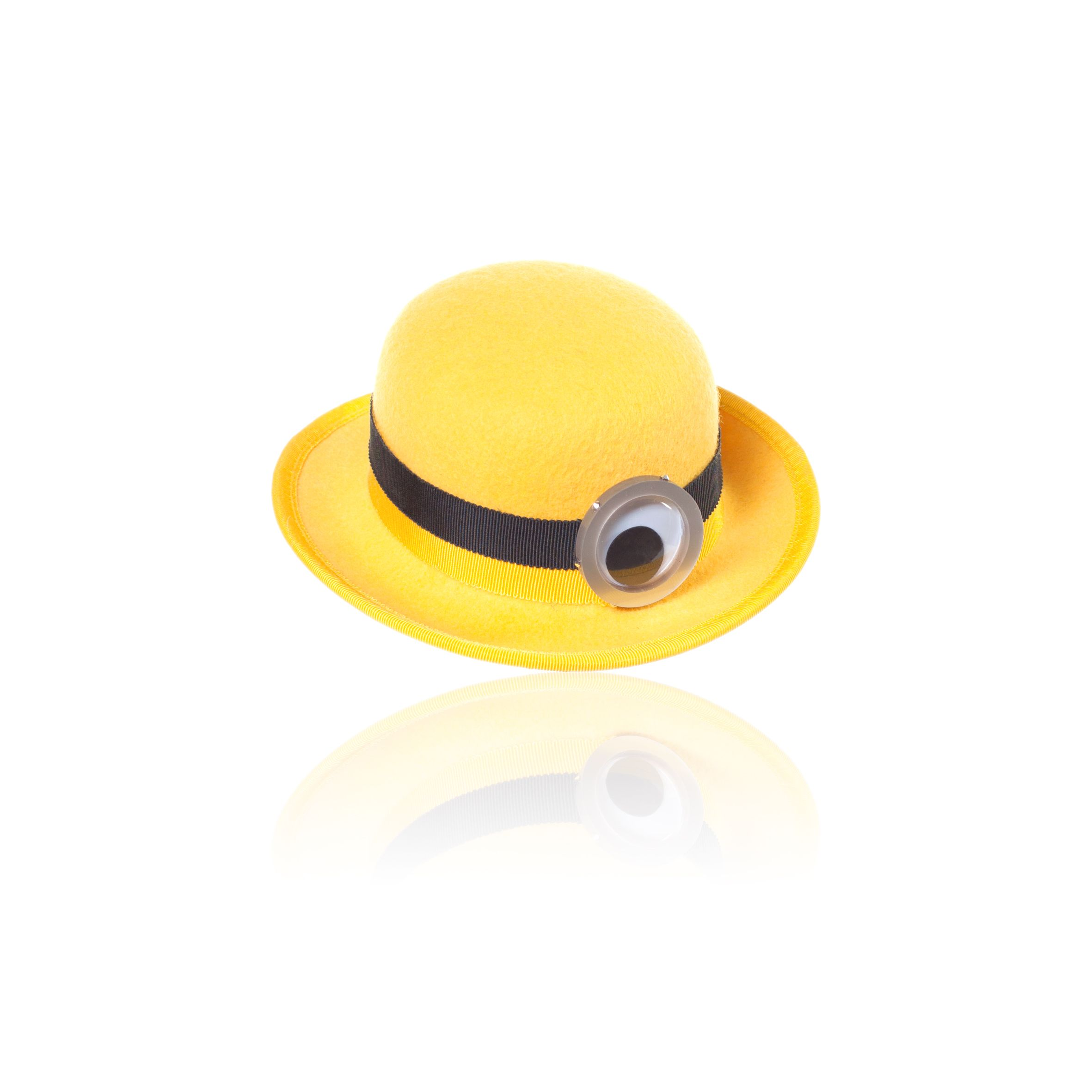 Brighten your day with this Minions yellow hat by Piers Atkinson. | Minions Bello Yellow Collection | See Minions in theaters July 10th.