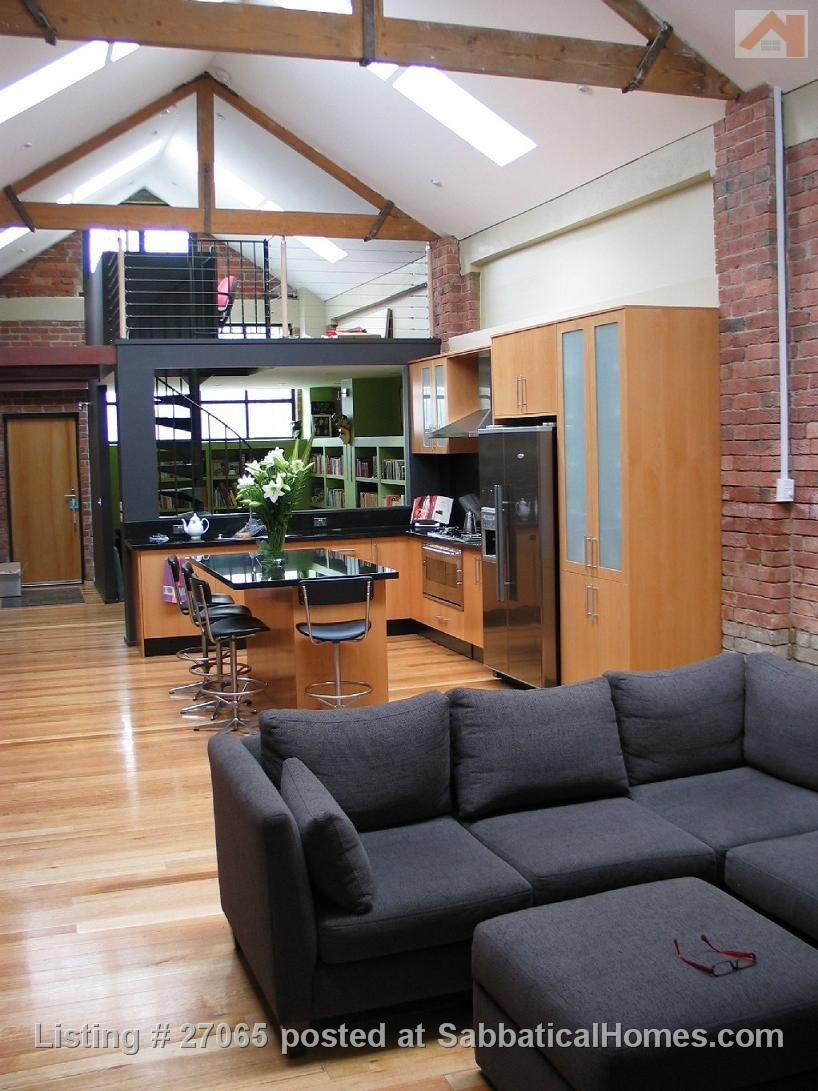 Modern, architecturally designed warehouse conversion in