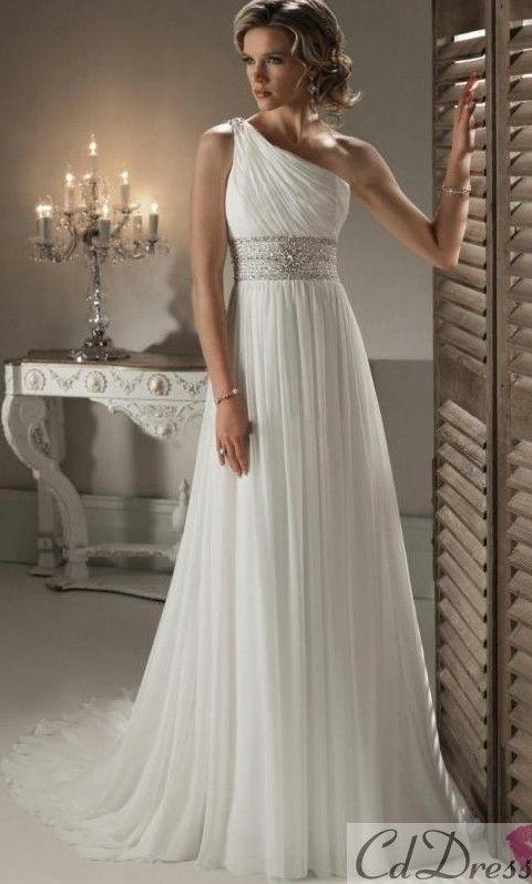 f0d16773c Vestido de Novia en Tipo A - su estilo muy clásico se adapta a cualquier  figura femenina