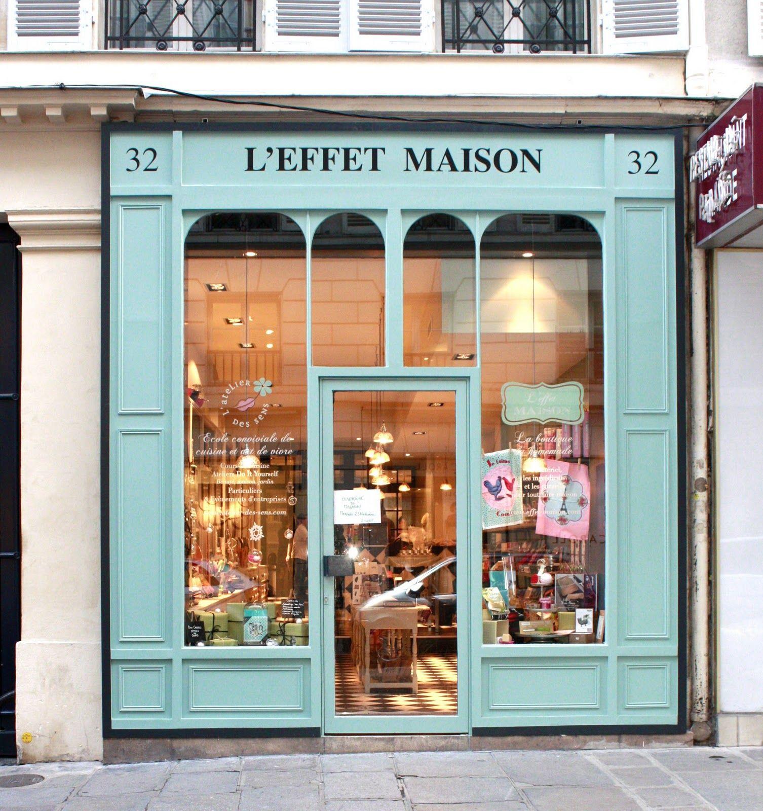 Le Fait Maison C Est Bon C Est Beau C Est Ecolo La Minute Deco Shop Facade Shop Front Design Shop Fronts