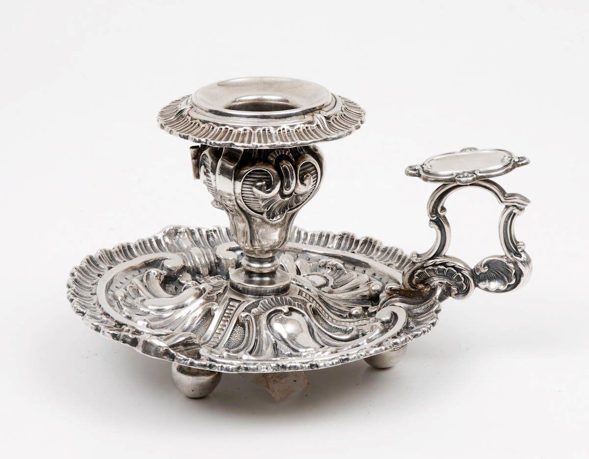 Palmatória em prata portuguesa