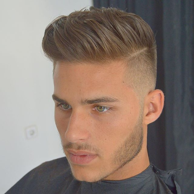 Men Hairstyle | Boy hairstyles, Pompadour hairstyle ...