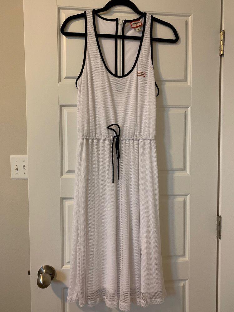 Hunter For Target Womens Mesh A Line Dress White Size Medium Free Shipping Fashion Clothing Shoes Accessories Dresses A Line Dress Fashion