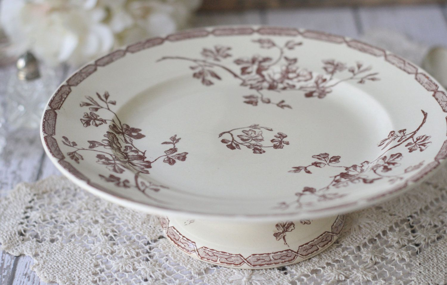 Antique French Cake Stand