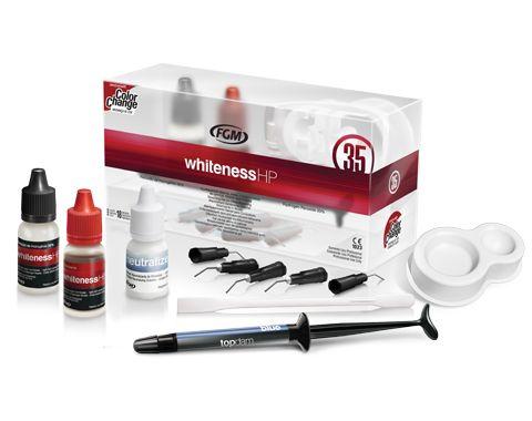 Whiteness Hp Clareadores Para Uso Em Consultorio Produtos Fgm