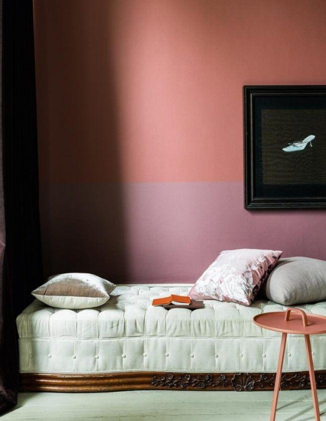 Altrosa wandfarbe f r romantisches ambiente in 38 bildern coulors pinterest wandfarbe - Farbkombinationen wandfarbe ...