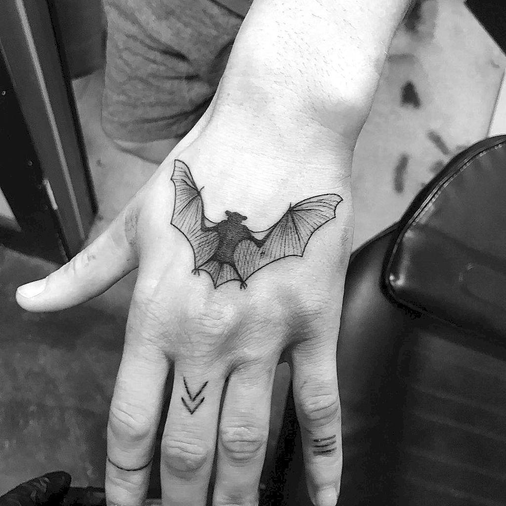 d5ec03d1b6fa1 Spooky Tattoos, Gothic Tattoo, Dark Tattoo, Tatoo, Batman Tattoo, Hand  Tattoos