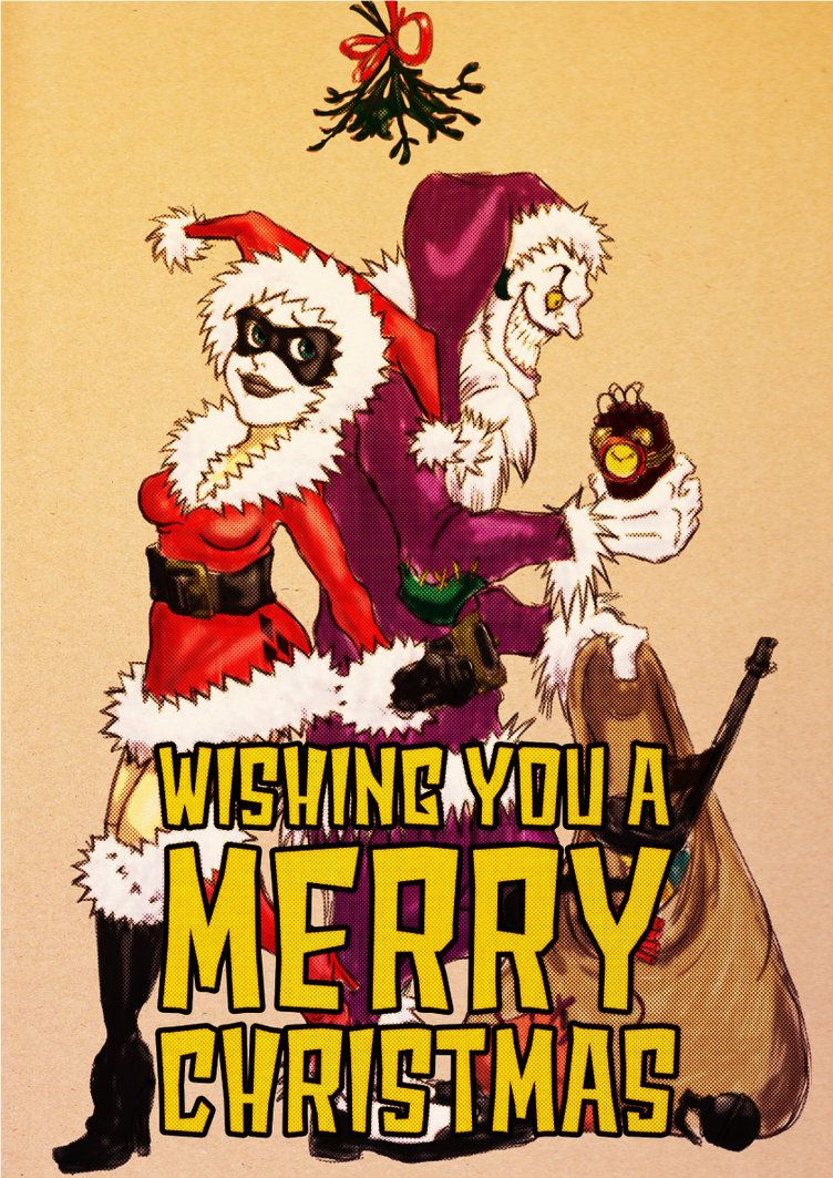 Harley & Joker Christmas | Dc Nation | Pinterest | Harley quinn ...