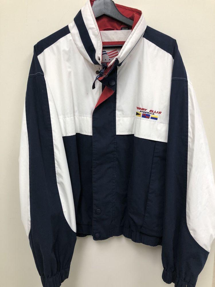 60f7b1e915 Vintage Perry Ellis Parka Jacket Size XXL