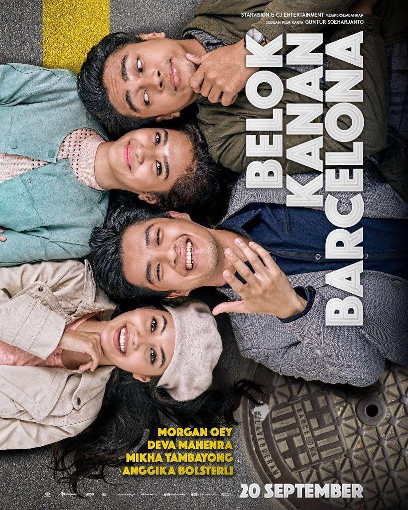 Nonton Film Surat Cinta Untuk Starla : nonton, surat, cinta, untuk, starla, Belok, Kanan, Barcelona, Cinema, Movie,, Movies, Download