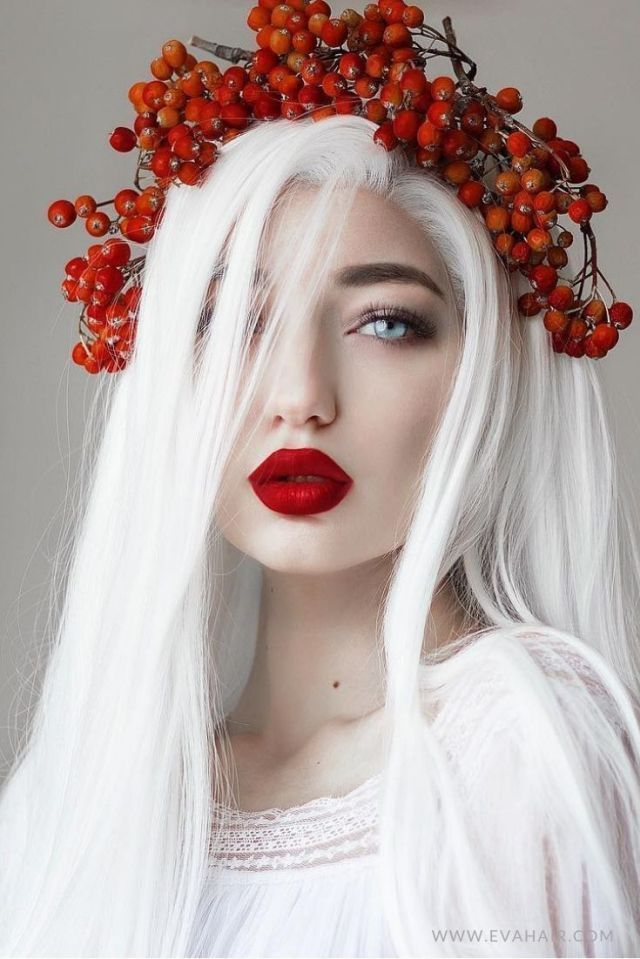 White Hair Character Inspiration 831828993660328040 Aesthetic People Hair Styles Eva Hair