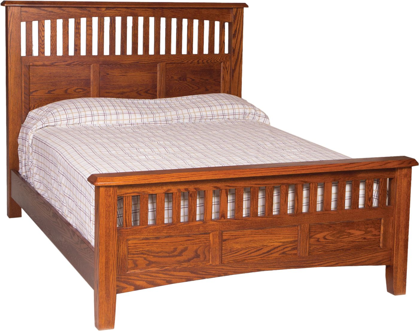 westbrook queen slat bed 8530q queen king beds from oakwood at
