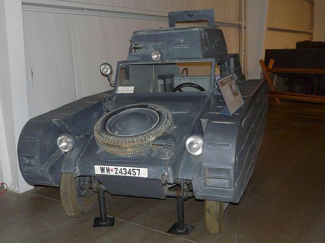 1939 Porsche Type 823 Dummy Tank